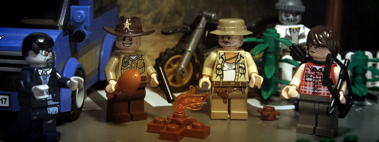 the lego walking dead halloween special