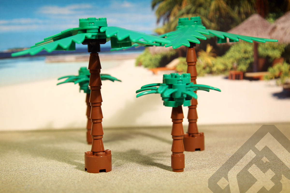 Onemorebrick Palm Tree Pack Factor41play